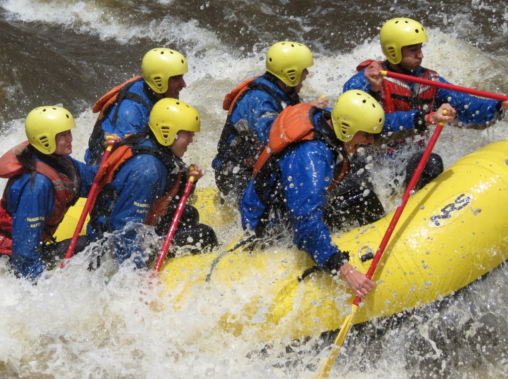 Denver Rafting on the Poudre River