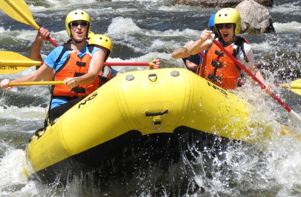 Fort Collins rafting