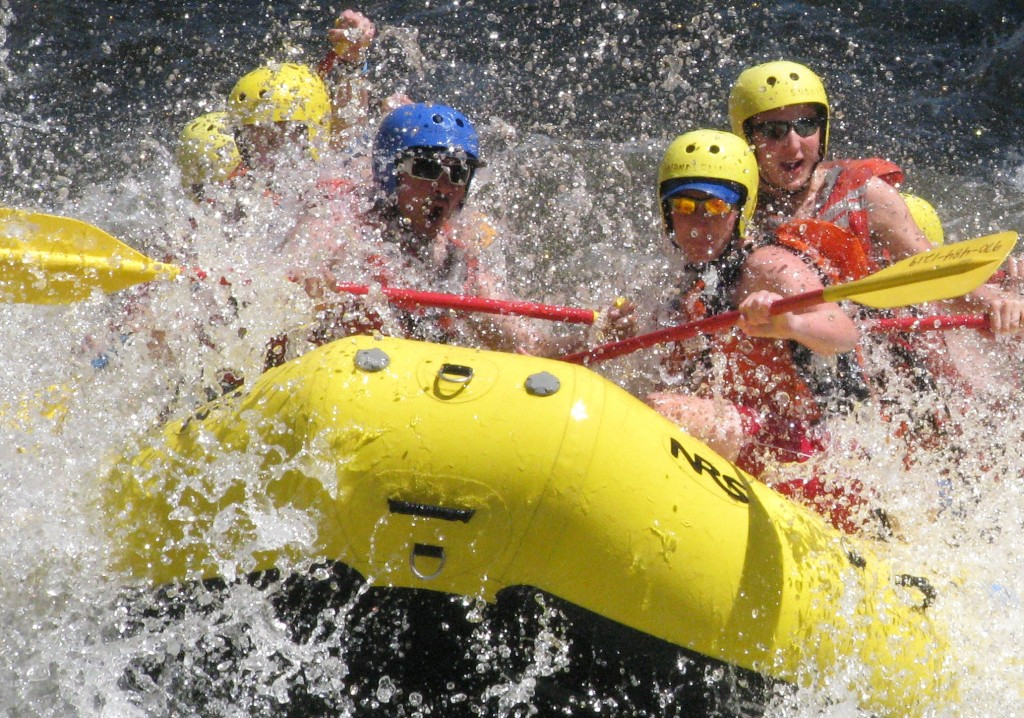 colorado rafting on the Poudre River