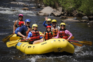 Rafting would be number one on our things to do in Estes Park.