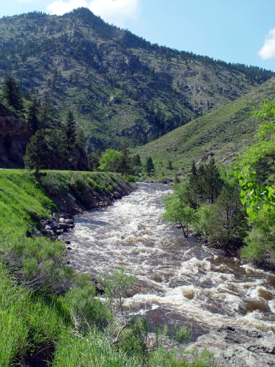 Poudre River area attractions near Estes Park, Denver, Boulder, and Fort Collins