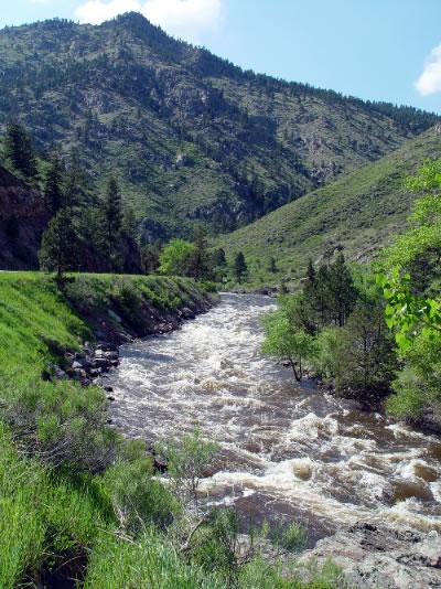 Poudre River area attractions near Estes Park, Denver, Boulder, and Fort Collins