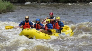 Rafting Near Estes Park