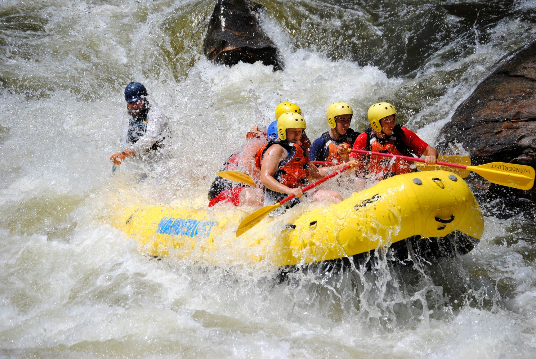 White Water Rafting on the River Tay - Leaving from Edinburgh Scotland