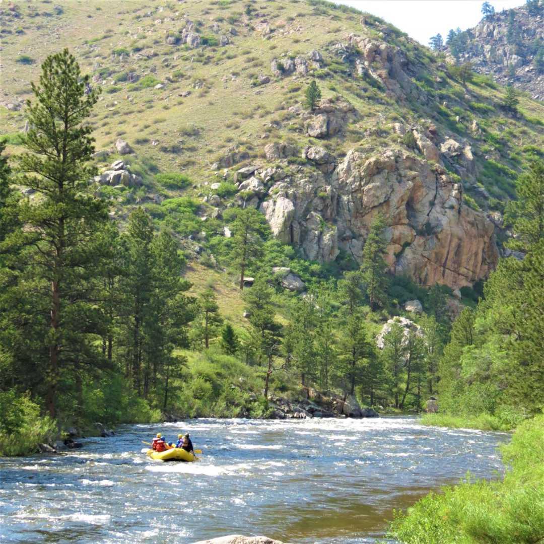 Denver Rafting Whitewater Rafting Near Denver Colorado